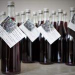 Víno z červeného rybízu